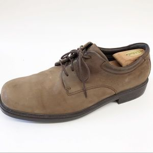 Rockports Suede Leather Casual Oxfords Lace Up